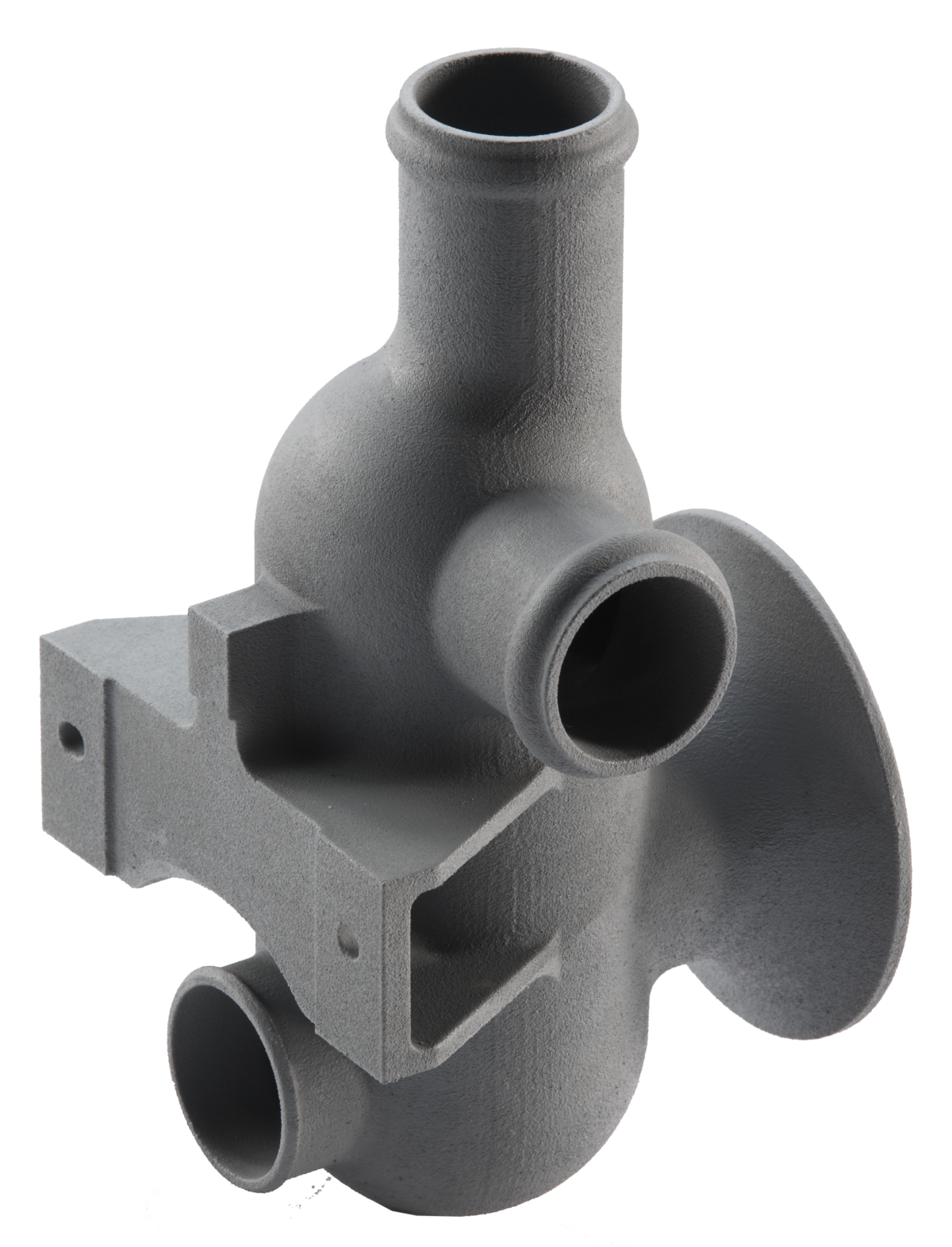 Custom molded duct for aerospace