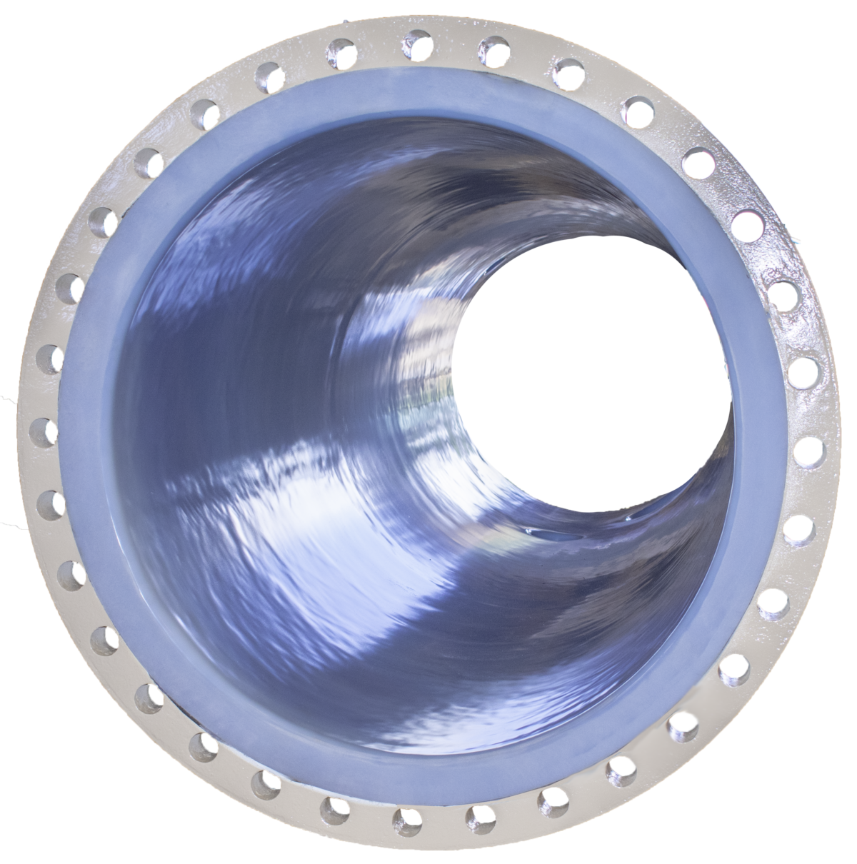 A rotolined industrial pipe
